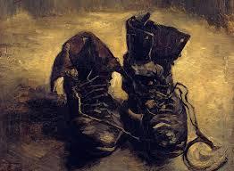 Lo smartphone e le scarpe di Van Gogh